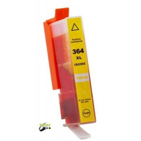 HP364XLY cartuccia compatibile colore giallo 364 xl yellow hp photosmart 18 ml CB325EE